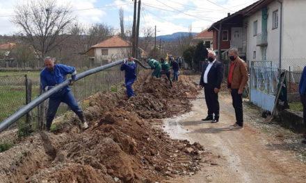 Делчево: Реконструкција на главната водоводна линија во Тработивиште