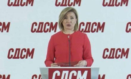 СДСМ: ВМРО-ДПМНЕ и Мицкоски денеска го слават насилството и режимот, бранат насилници од 27 април