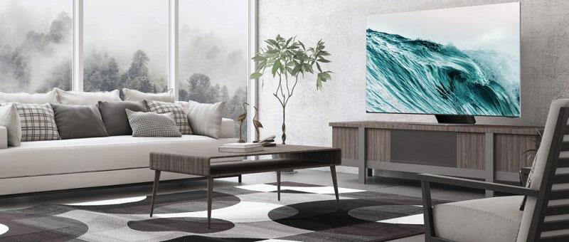 Екран кој лебди во воздух – минималистички дизајн на Samsung Neo QLED 8K телевизорот
