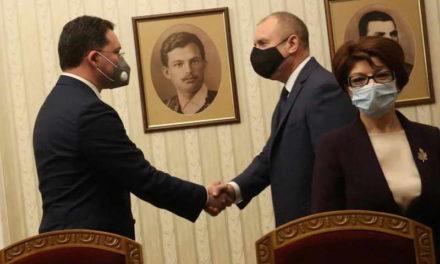 Радев ќе му го врачи мандатот за состав на нова влaда на Митов од ГЕРБ