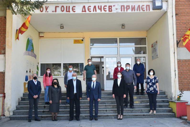Прилеп: Одбележана годишнината од смртта на Гоце Делчев, Пере Тошев и Јосип Броз Тито