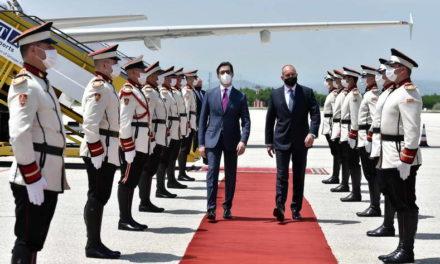 Средба на претседателот Пендаровски со бугарскиот претседател Румен Радев