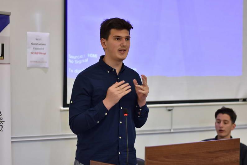 Лука Павиќевиќ е нов претседател на Сојузот на средношколци