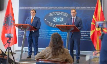 Османи се сретна со Зев Мази, главниот преговарач  за пристапување на Република Албанија  во ЕУ