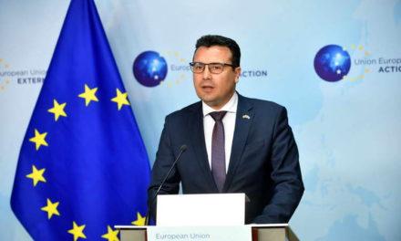 Заев од Брисел: Го очекуваме тоа што ни е ветено – прифаќање на преговарачката рамка и првата меѓувладина конференција уште во мандатот на португалското претседателство со Унијата
