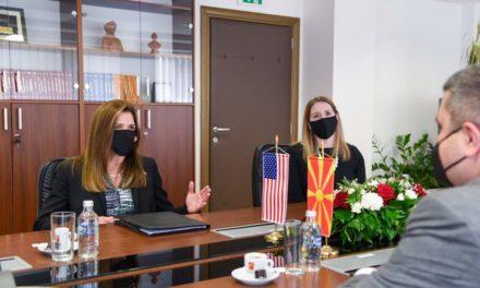 Средба Маричиќ- Брнз: Силна поддршка за реформите во судството