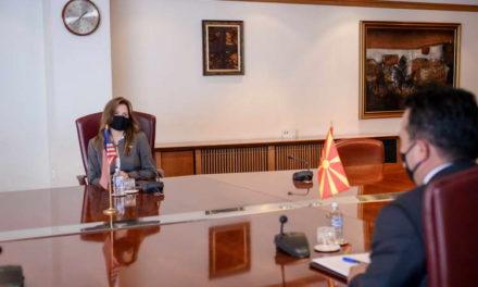 Заев – Брнз: Извршната наредба на претседателот Бајден ги штити САД, Северна Македонија и сојузниците од нарушувања на мирот и стабилноста, од корупција и од загрозување на демократијата