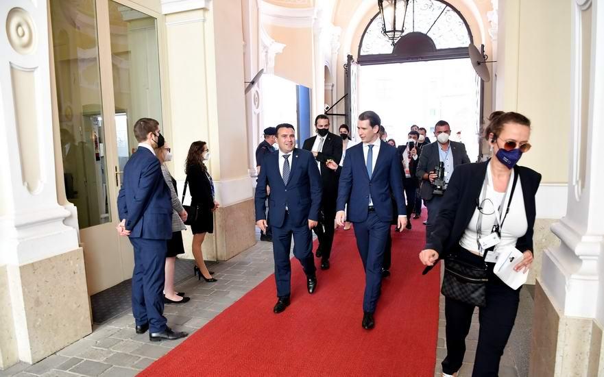 Премиерот Заев од Самитот за Западен Балкан во Виена: Да ја направиме 2021-ва, година на силен исчекор напред, бидејќи Западен Балкан е нераскинлив дел од ЕУ