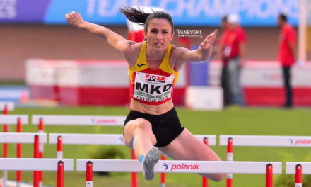Атлетичарката Ислами постави нов државен рекорд и победи на 400 метри со пречки на ЕП во Кипар