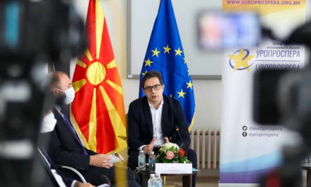 Претседателот Пендаровски: Клучниот проблем на ЕУ е носењето на одлуки со консензус