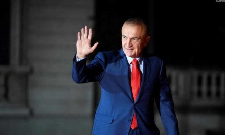 Албанскиот парламент го разреши претседателот Илир Мета