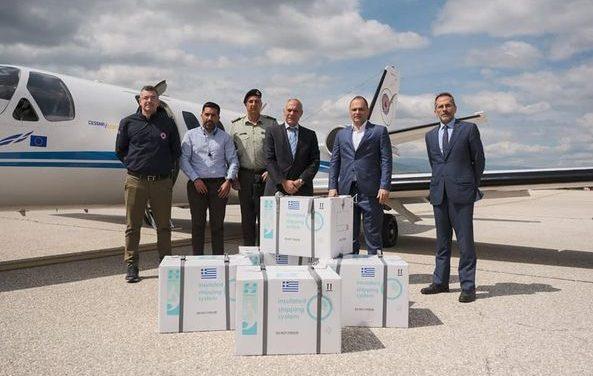 """Денеска пристигнаа 20.000 дози """"АстраЗенека"""", донација од Грција"""