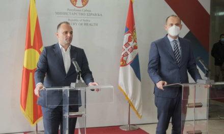 Филипче: Ревакцинацијата на македонските граѓани во Србија најверојатно ќе биде во Ниш и во Врање