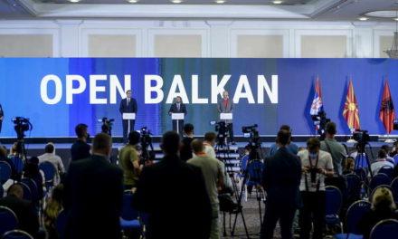 """Завршна изјава на лидерите на """"Отворен Балкан"""""""
