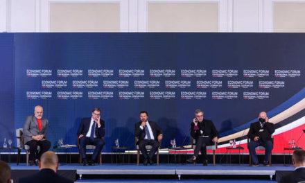 Заев, Вучиќ и Рама од Економскиот форум во Скопје: Започнува нова ера на соработката за интегриран и поврзан регион како европска вредност