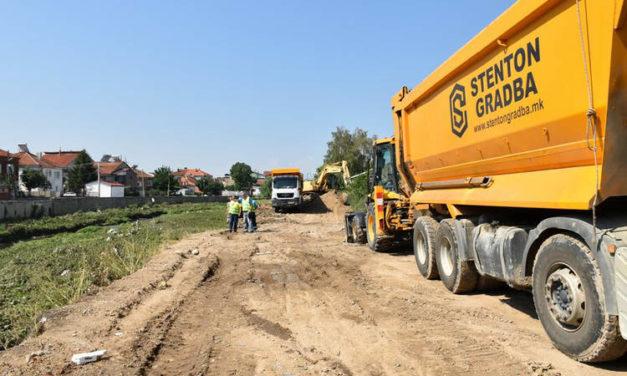 Започнаа градежните активности за изградба и реконструкција на патната инфраструктура во општина Прилеп