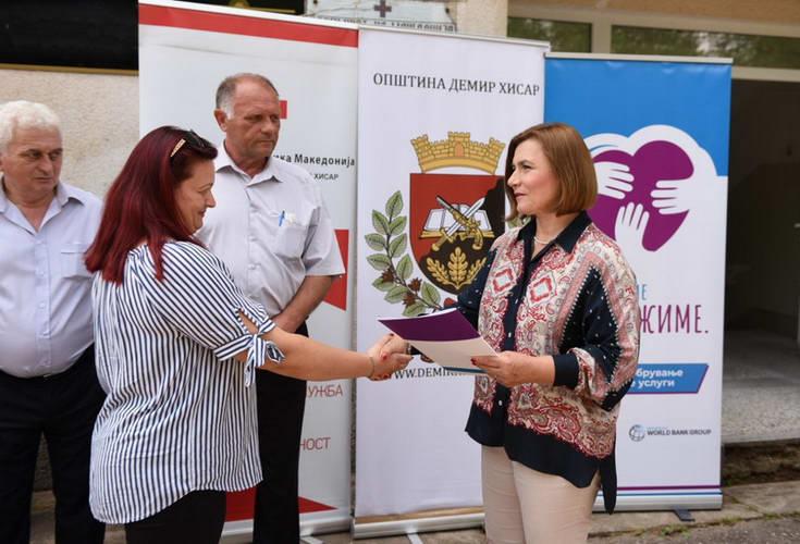 Шахпаска: Нега Центарот во Демир Хисар ќе обезбеди помош и нега во домот за 21 лице над 65 години,социјалната реформа продолжува
