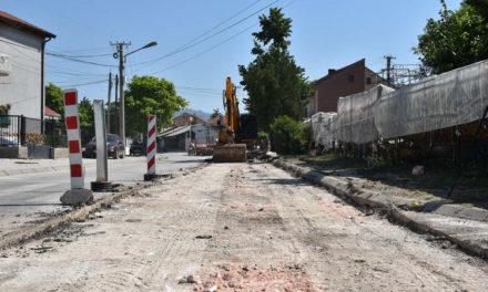 """Започнаа градежните активности за реконструкција на улицата """"Мице Козар"""""""