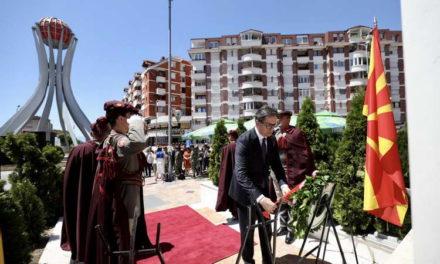 Претседателот Пендаровски оддаде почит на десеттемина армиски резервисти загинати кај Карпалак