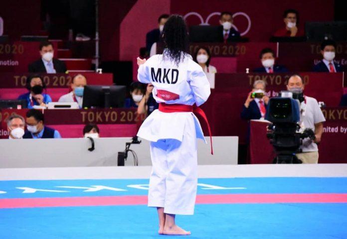 Каратистката Јованоска заврши деветта во натпреварувањето во кати на Олимпијадата во Токио