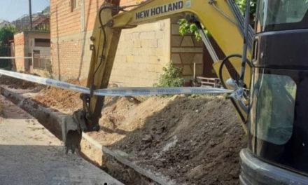 """Реконструирана водоводната линија на улица """"Глигор Прличев"""""""