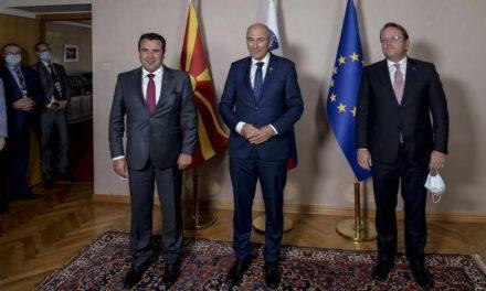 Заев, Јанша и Вархеји: Северна Македонија и Албанија треба да ги почнат преговорите час поскоро