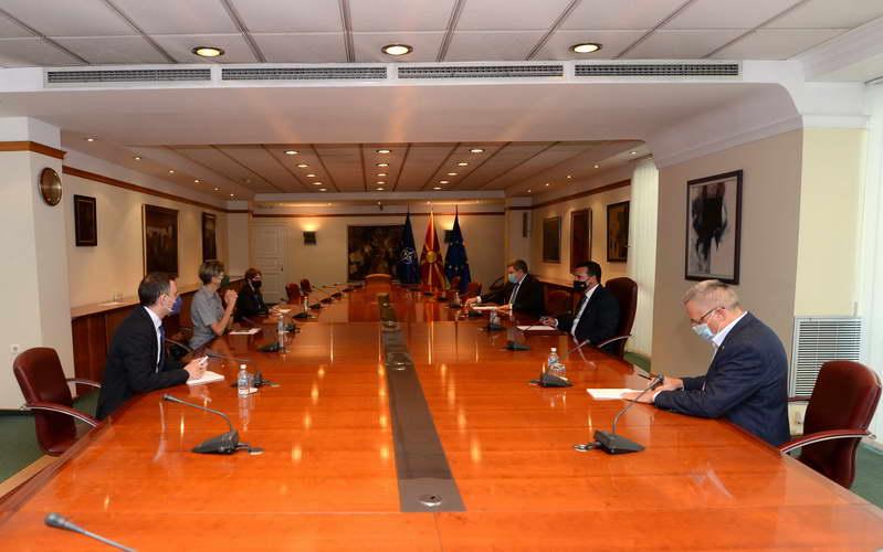 Заев и Маричиќ на средба со ОБСЕ-ОДИХР: Со прифатените амандмани на Изборниот законик обезбедивме дополнителни гаранции за локални избори според највисоки стандарди