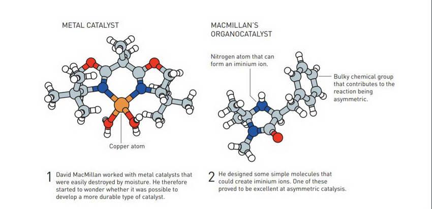"""Нобеловата награда за хемија ја добиваат Бенјамин Лист и Дејвид Мек Милам за """"екологизирање"""" на хемијата"""