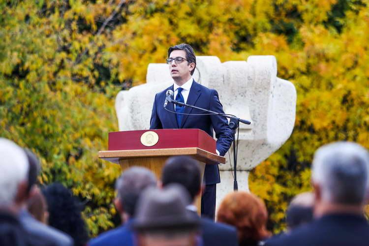 Претседателот Пендаровски се обрати на чествувањето на 11 Октомври, Ден на народното востание во Прилеп