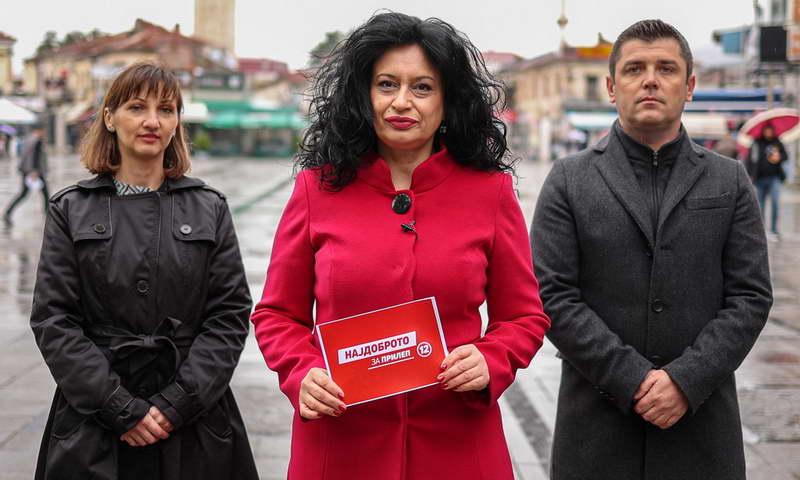 Моника Илиеска-Грашеска: СДСМ и Коалицијата се најдоброто за општина Прилеп